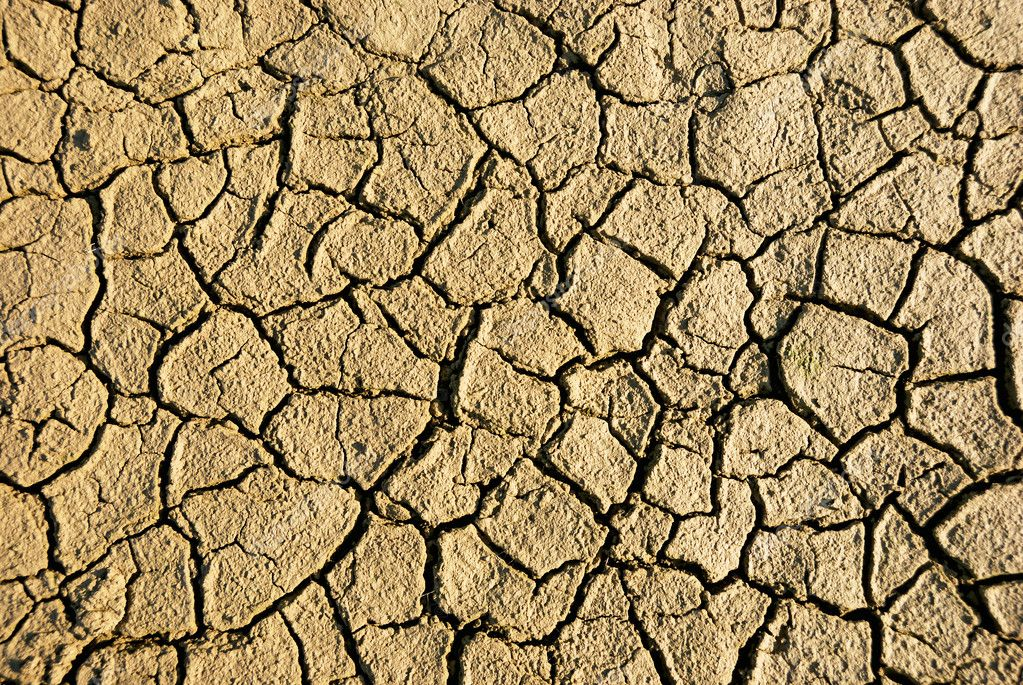 Dry wethered land background