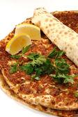 Photo Turkish pizza
