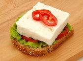 formaggio feta bianco