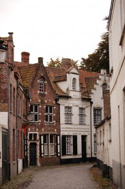 Very old small streets of Brugge