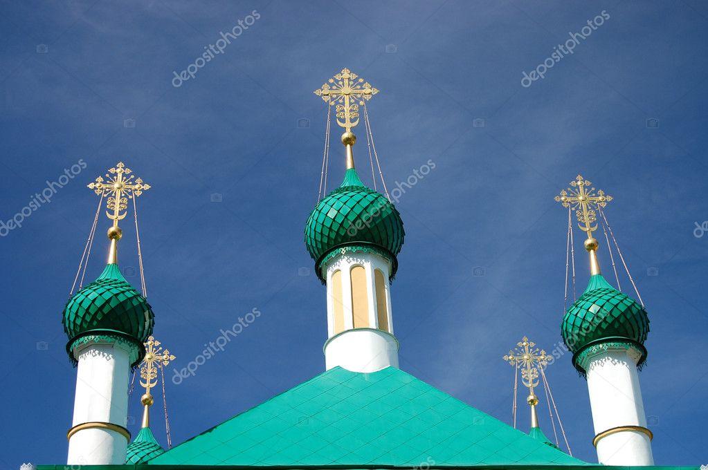 Vintage church, Pereslavl-Zalesskiy, Russia