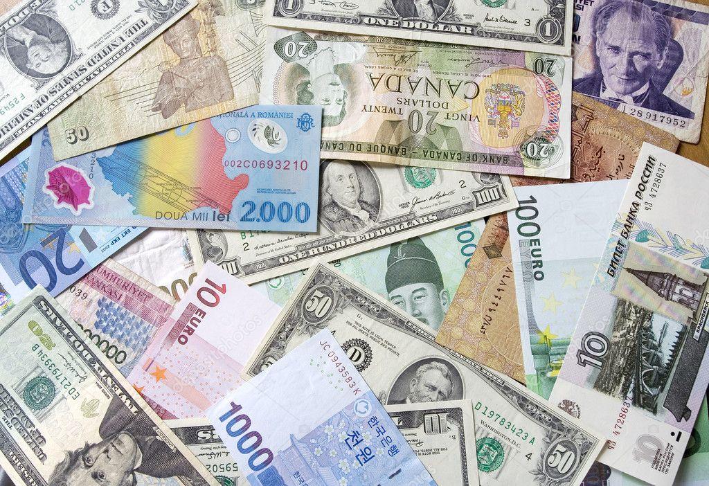 国際通貨 — ストック写真 © chey...