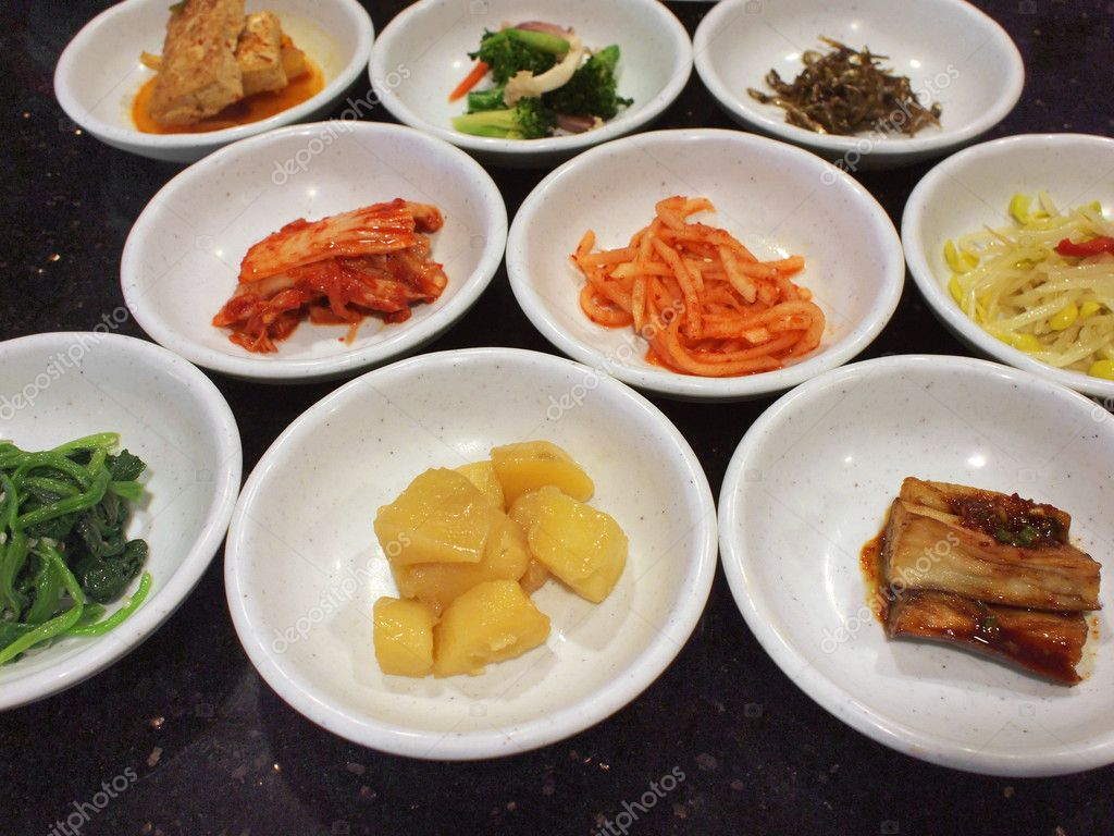 appetizers in a korean cuisine — stock photo © ivylingpy #2012779