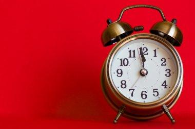 Stylish classic alarm clock