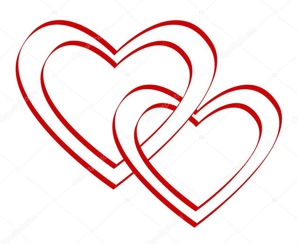 Картинки два сердца вместе красивые карандашом, сигарета