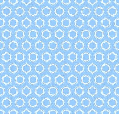 Seamless light blue pattern.