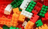 Fényképek LEGO háttér - fekete-fehér