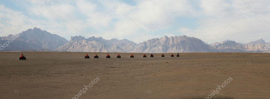 Atv at the Desert