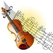 hegedű háttér