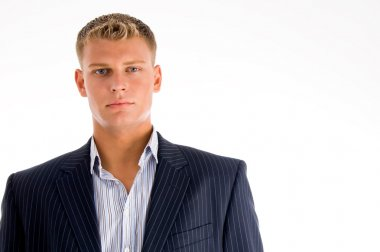 Portrait of caucasian businessmale