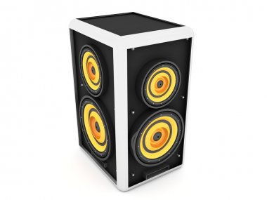 Three dimensional sound box