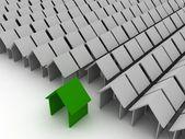 3D ingatlanok-házak