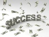 3D-s siker szöveg készült valuta