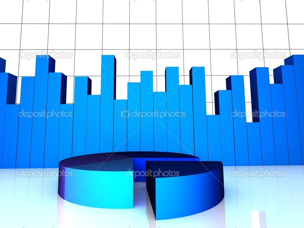3d pie chart and bar graph stock photo imagerymajestic 1361404 front view of 3d pie chart and bar graph on an isolated white background photo by imagerymajestic nvjuhfo Gallery