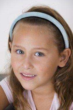 Portrait of sweet little girl