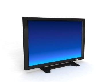 Three dimensional lcd television