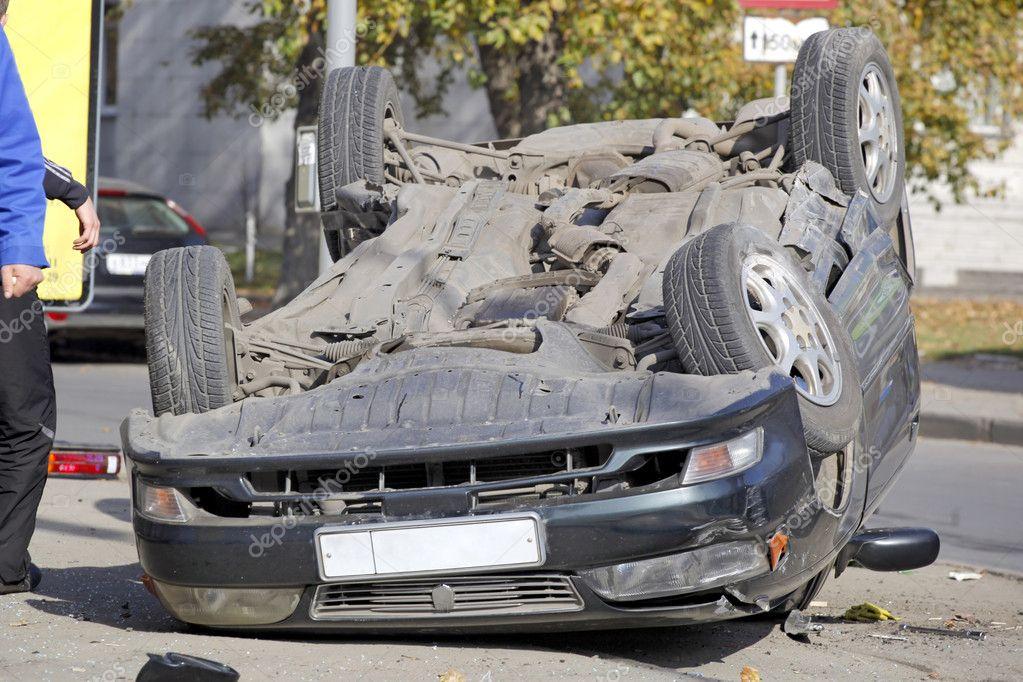 Auto-Crash-Szene — Stockfoto © deduhin #1371367