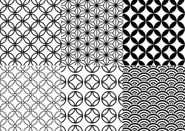 Japanese pattern, vector