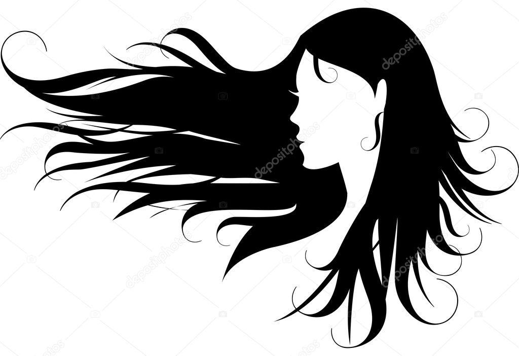 Hair, vector
