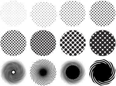 Dot patterns, vector