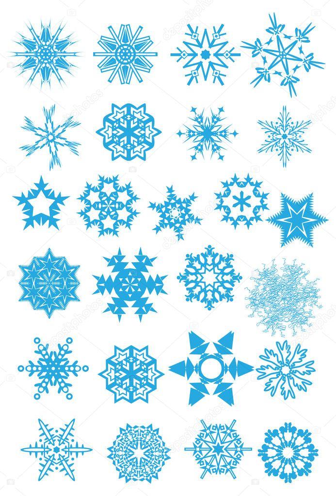 Snowflake set #3