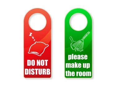 Set of vector do not disturb and clean u