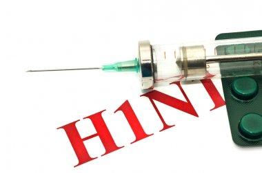 Swine FLU H1N1 - pills and syrin