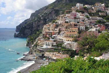 Positano at the Amalfi coast