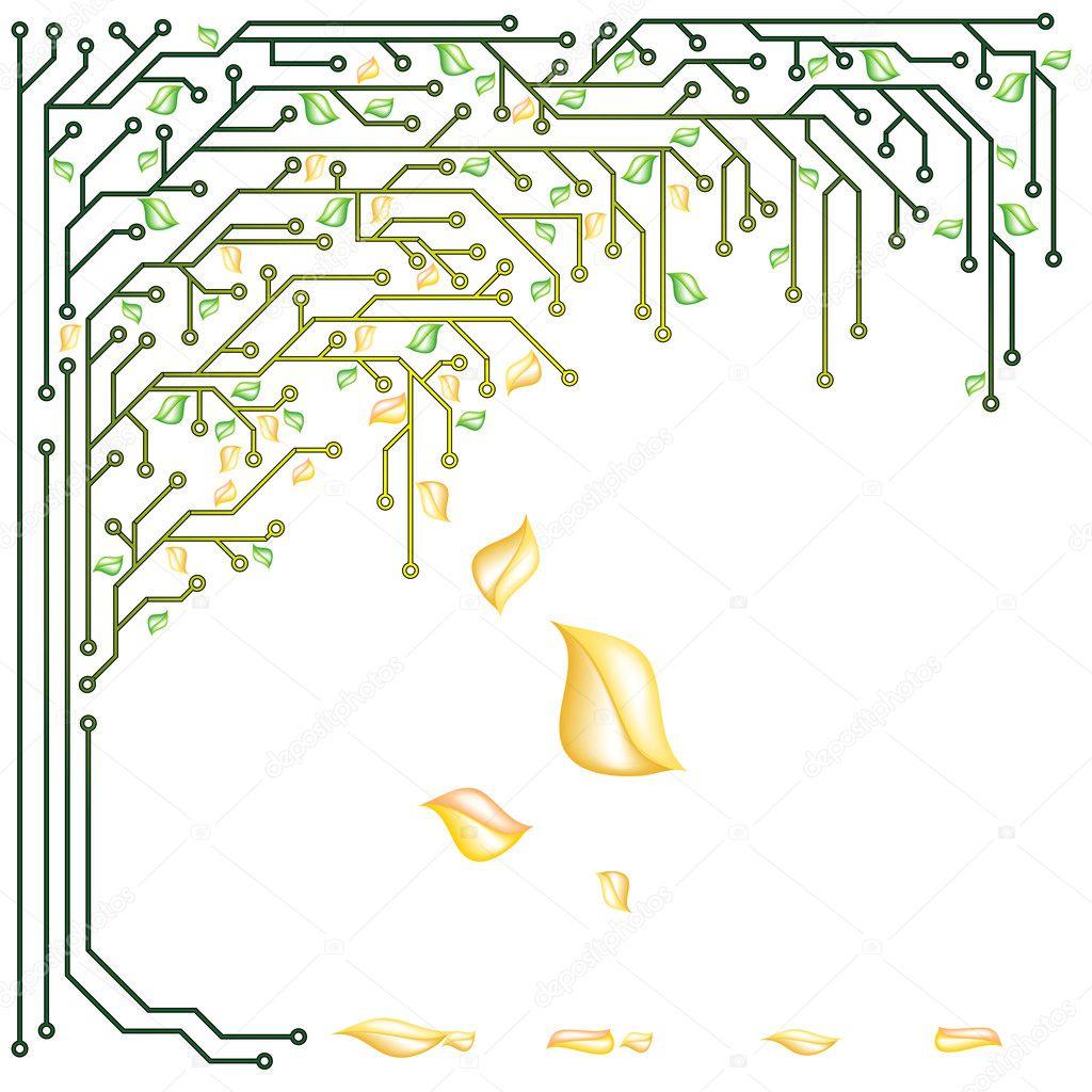 Electronic tree
