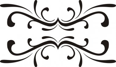 Decorative elements, designs vector