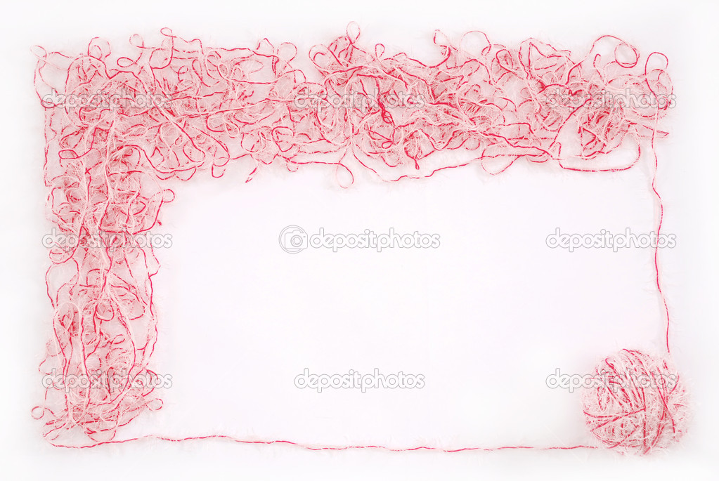 marco. puño de escota aislado sobre un blanco — Fotos de Stock ...