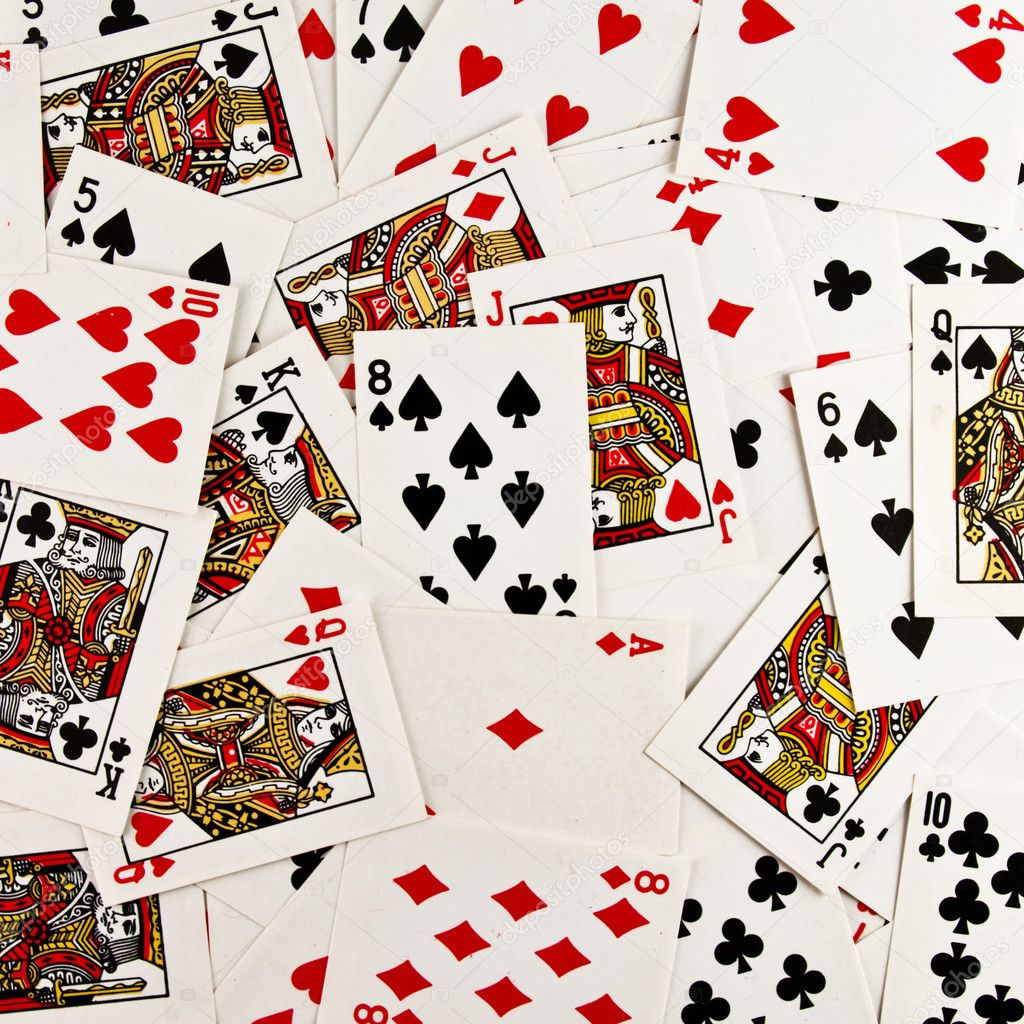 The image of playing cards