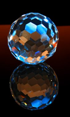 Magic cut crystal sphere