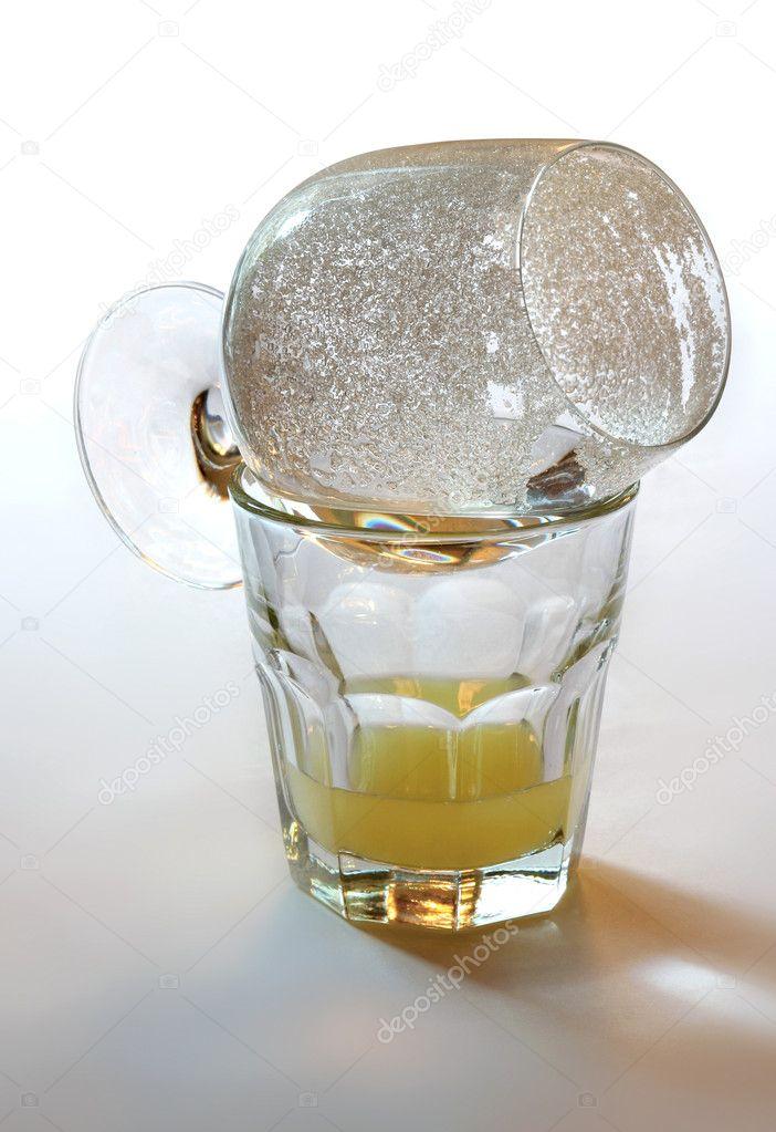 Коктейль ром и самбука