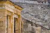pohled na starověké řecké divadlo
