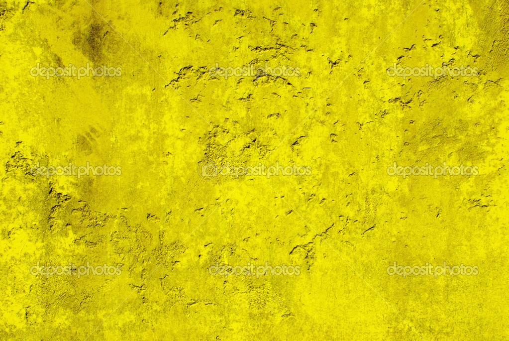 Yellow vintage wall background — Stock Photo #2529983