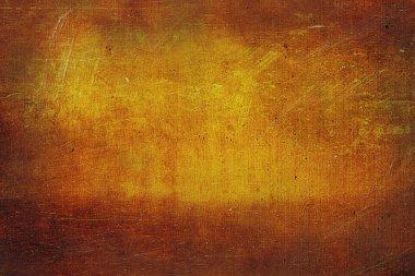 Teksture of old copper