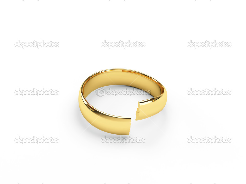 wedding royalty rings picture photo and isolated stock broken gold