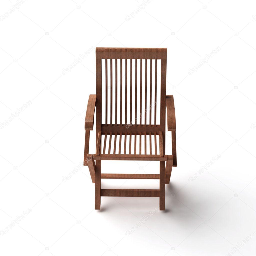 Faszinierend Stuhl Holz Sammlung Von 3d Isoliert Weiss — Foto Von Sprinter81