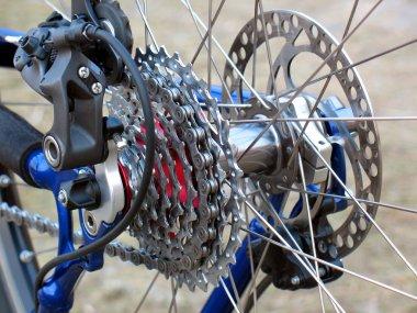 Mountain Bike rear wheel