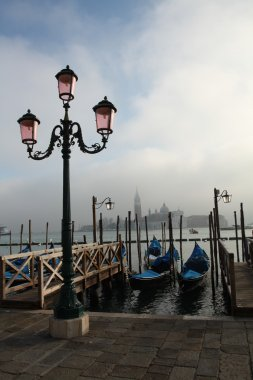 Venice waterside street