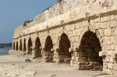 Ancient Roman Aqueduct, Israel