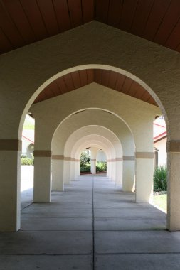 Arches With Perspective Depth