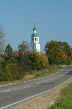 Church and road
