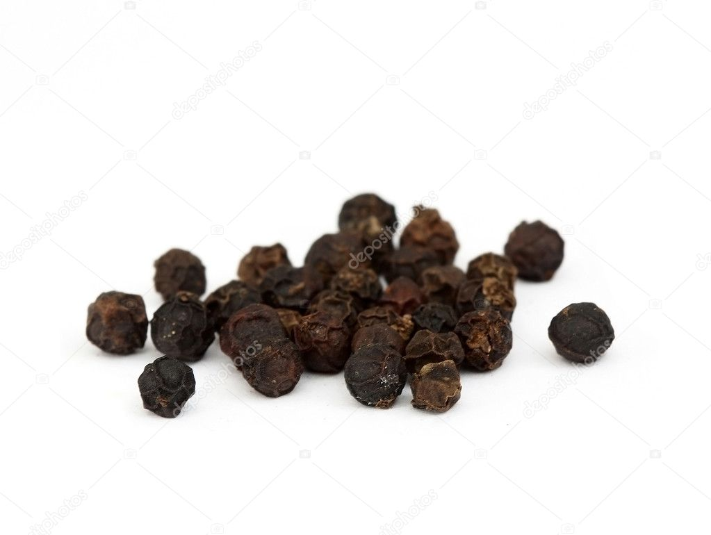 Close-up black pepper