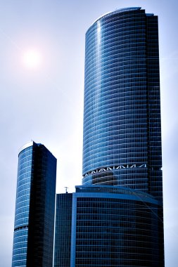 New skyscrapers business center