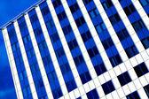 perspektivní pohled do nové moderní budovy
