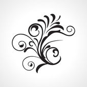 Fotografie Vector beautiful design black tattoo