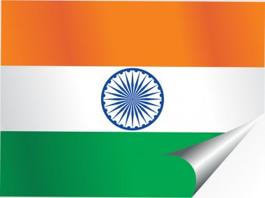 Background with indian national flag