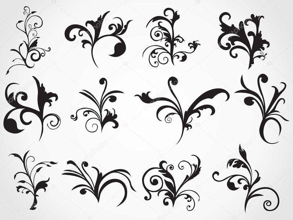 Streszczenie Stylowy Wzór Tatuaży Grafika Wektorowa